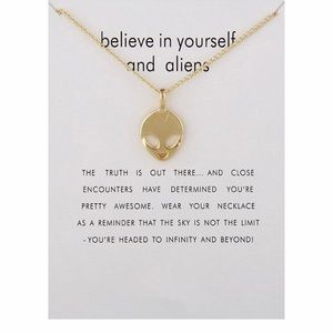 Jewelry - 4 for $25⚡️alien necklace